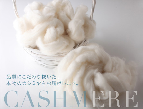 Insist on the quality standard and deliver real cashmere.